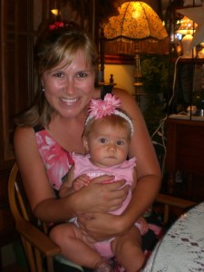 Baby Addisyn's First Tea Party! 2011