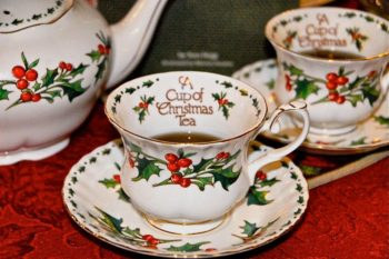 Christmas Tea at the Grand Tea Room~ & Giveaway!