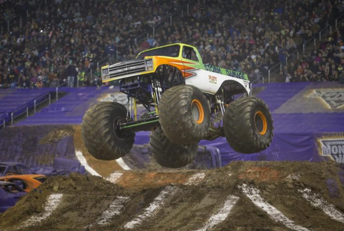 MONSTER JAM® RETURNS TO CRUSH THROUGH SAN DIEGO PETCO PARK ON FEB. 18th!!!