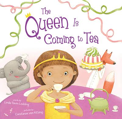 Book Review and Giveaway~ The Queen is Coming to Tea!